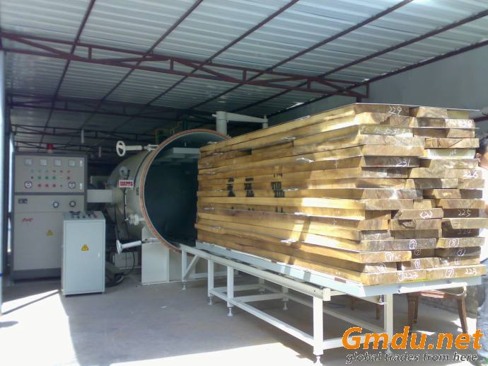10CBM HF/RF Fast high frequency timber vacuum drying/chamber dryer klin