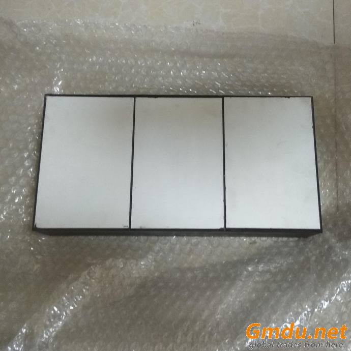 Custom Made Alumina Ceramic Liner and Rubber Composite Board