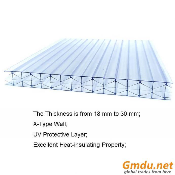 X Type Polycarbonate Sheet