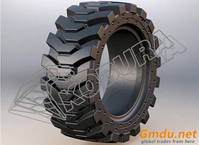 Skid Loader Solid Tires-801H kobura