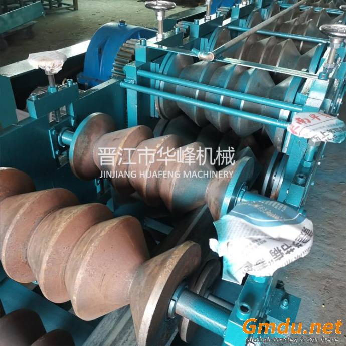 Round to Square Pipe Roll Forming Machine