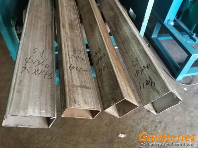Iron Steel Rectangular Pipe Roll Forming Machine