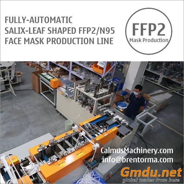 Fully-auto Aura-Fold-Flat FFP2 N95 Respirator Mask Machine Production Line