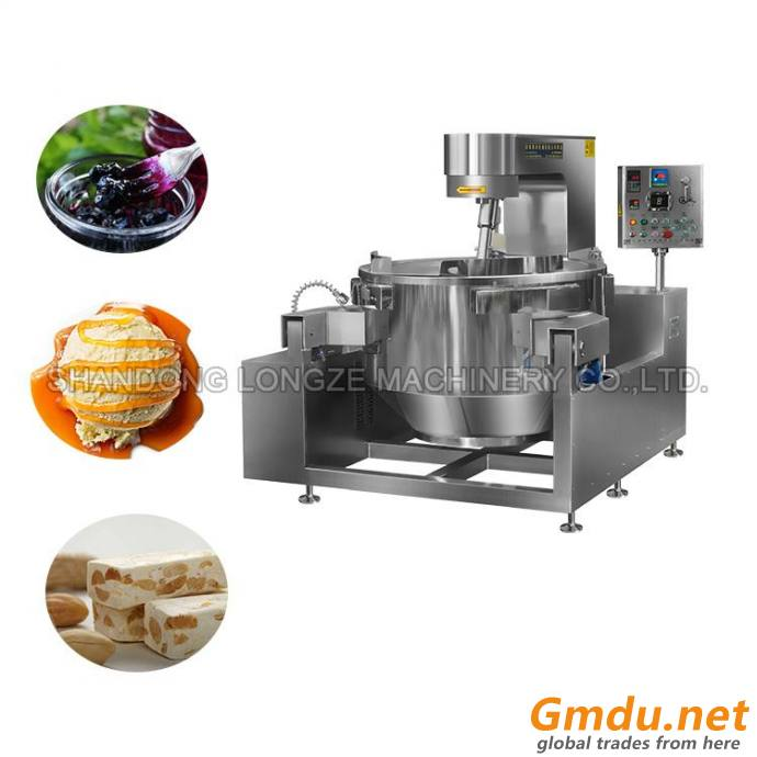 Semi-automatic Electric Heat Oil Cooking Mixer For Sauce