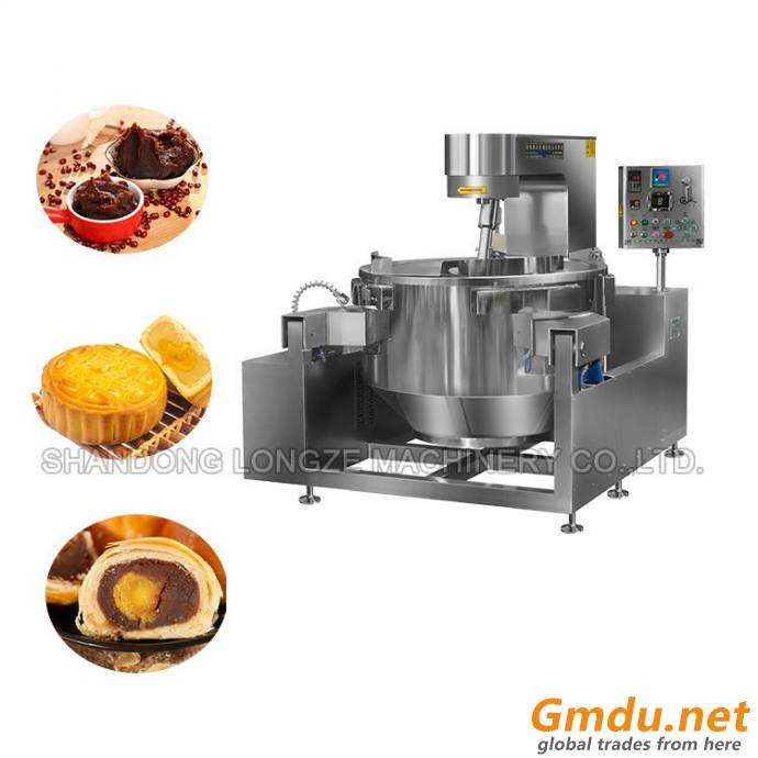 Full Automatic Gas Heating Bean Paste Cooking Machine