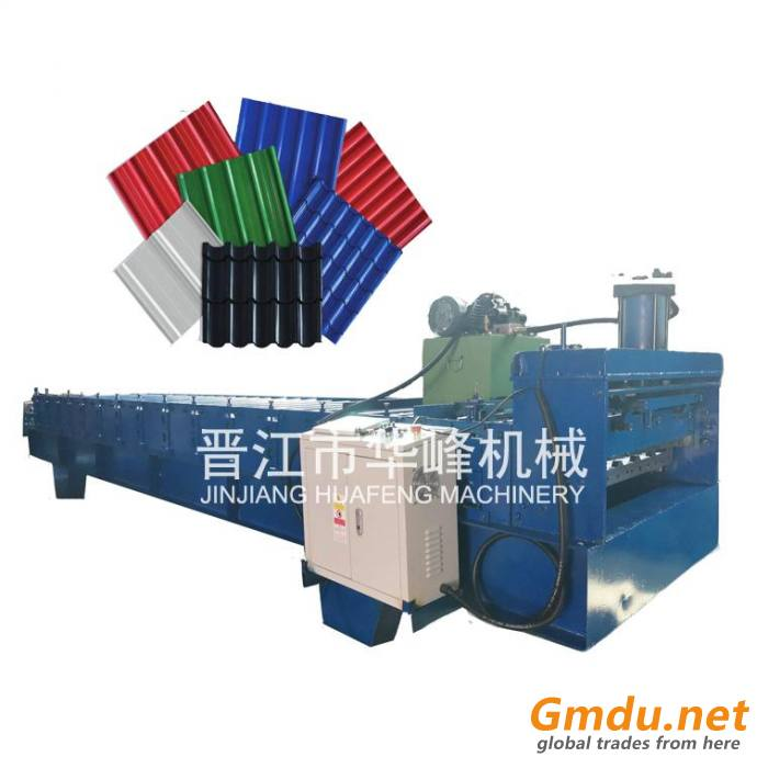 470 Lock Roof Sheet Joint-hidden Roof Tile Roll Forming Machine