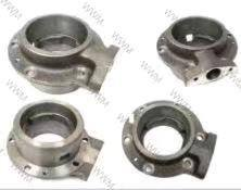 Casting cage, flange, intake manifold, exhaust manifold