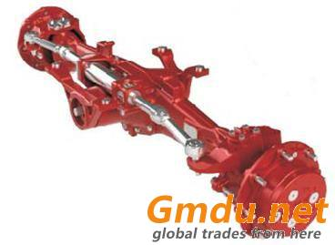 agricultural steering axle