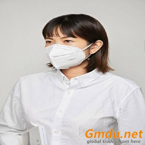 KN95 mask 5 layer disposable breathable dustproof filter rate PFE95 grade male and female protective white mask