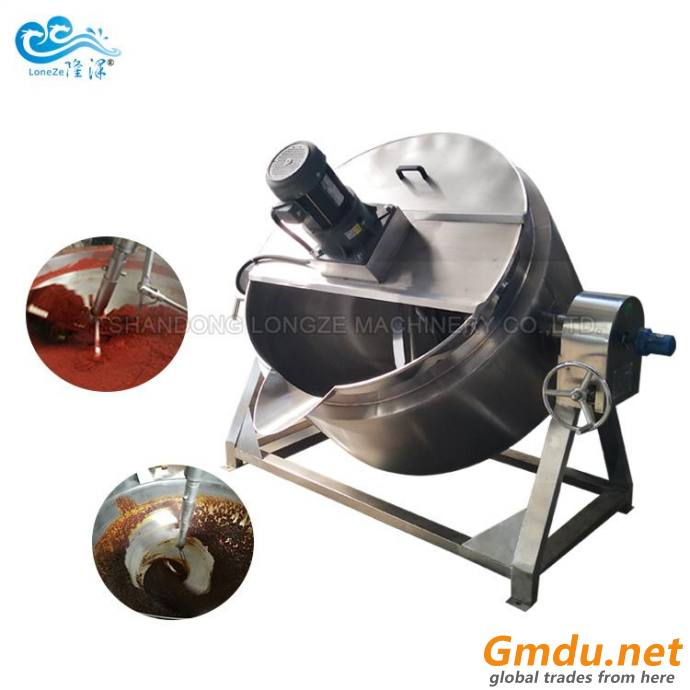 Condiment Mixing Cooking Jacketed Kettle
