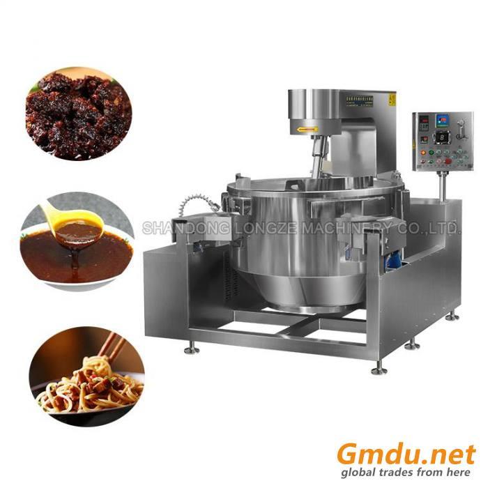 Black Pepper Sauce Cooking Mixer Machine