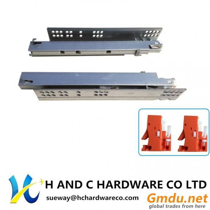 K3001 Full extension Concealed undermount drawer slide
