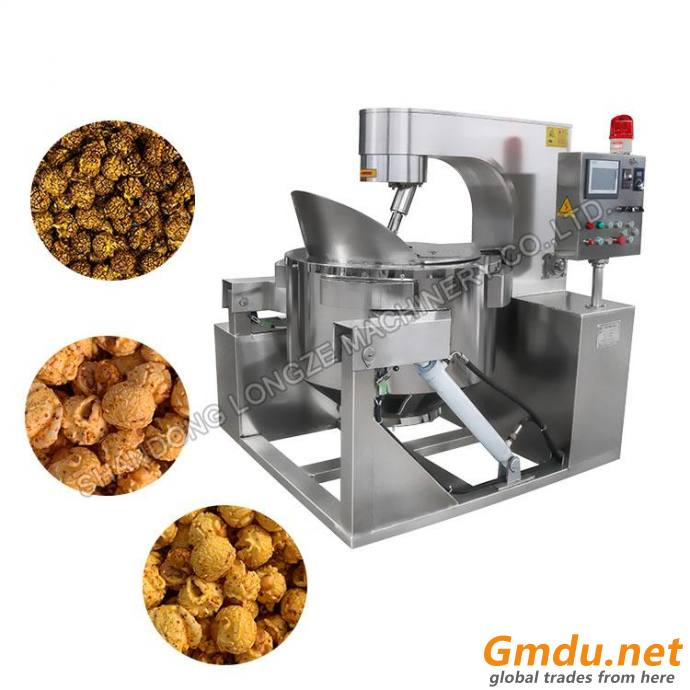 Commercial Popcorn Machine For Caramel