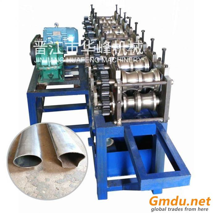 Stainless Steel Handrail Pipe Roll Forming Machine