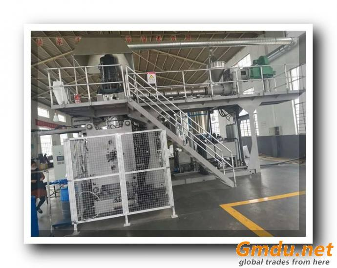 extrusion blow molding machine for 220L chemical drums