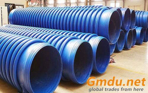Corrugated Fiber Reinforced HDPE Pipe
