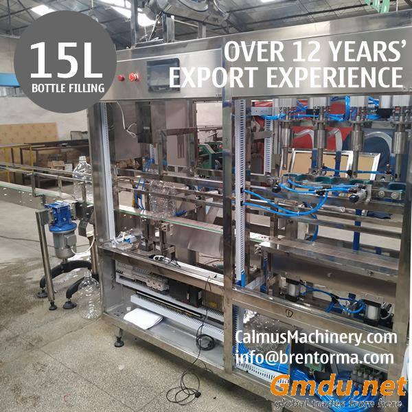 15L Bottle Filler Filling Machine 15 Litre Water Bottling Machine