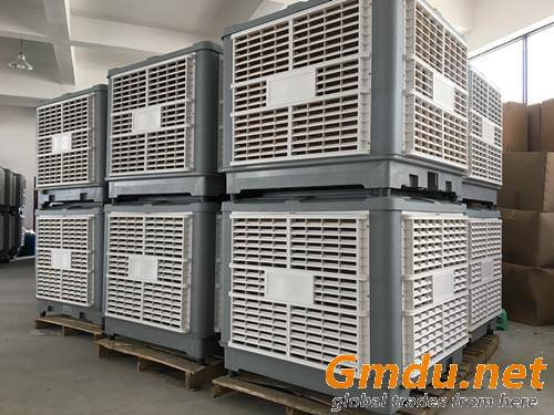 Moly 1.5kw 20000CMH top/bottom/side air discharge industrial evaporative coolers