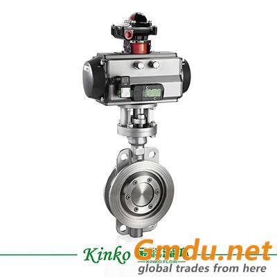 pneumatic actuator butterfly valve