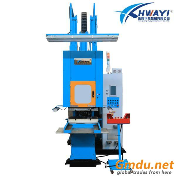 50ton C frame rubber injection press for making seal profiles joints,corners and junctions