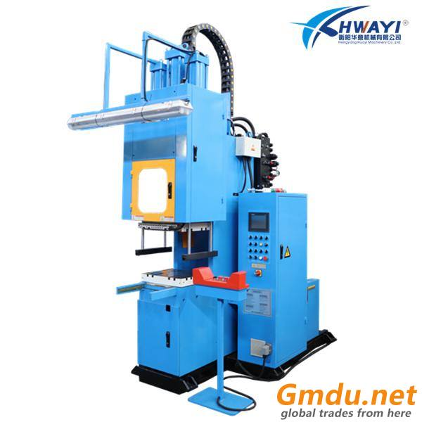 C frame rubber injection machine for molding corners of sealing profiles