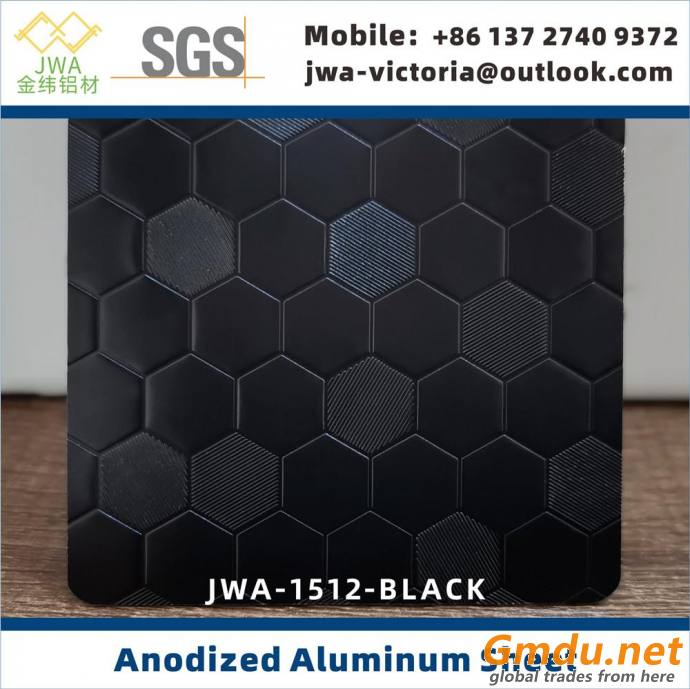 Anodized Aluminum Sheet for Cladding, Coil Anodizing, Anodized Aluminum Coil
