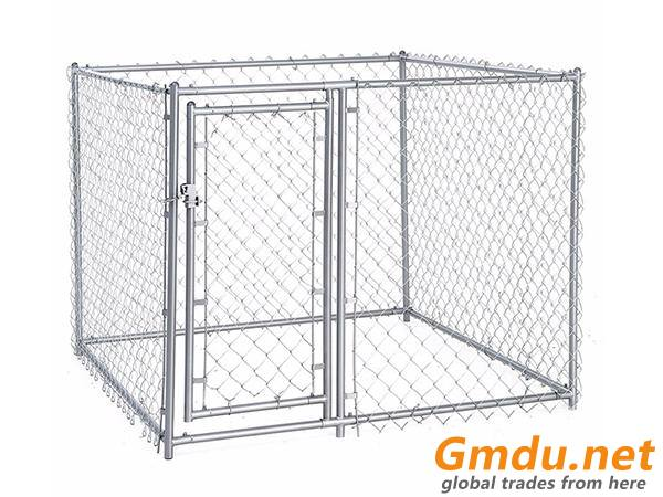 Chain Link Dog Cage