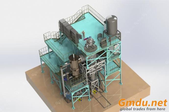 (VIGA) Vacuum induction melting and Inert gas Atomization equipment