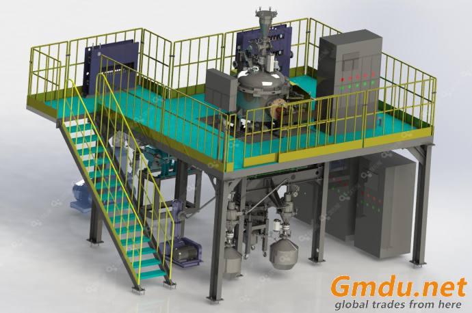 (EIGA)Electrode induction melting and Inert gas Atomization equipment