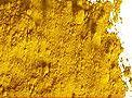 iron oxide yellow; pigment yellow