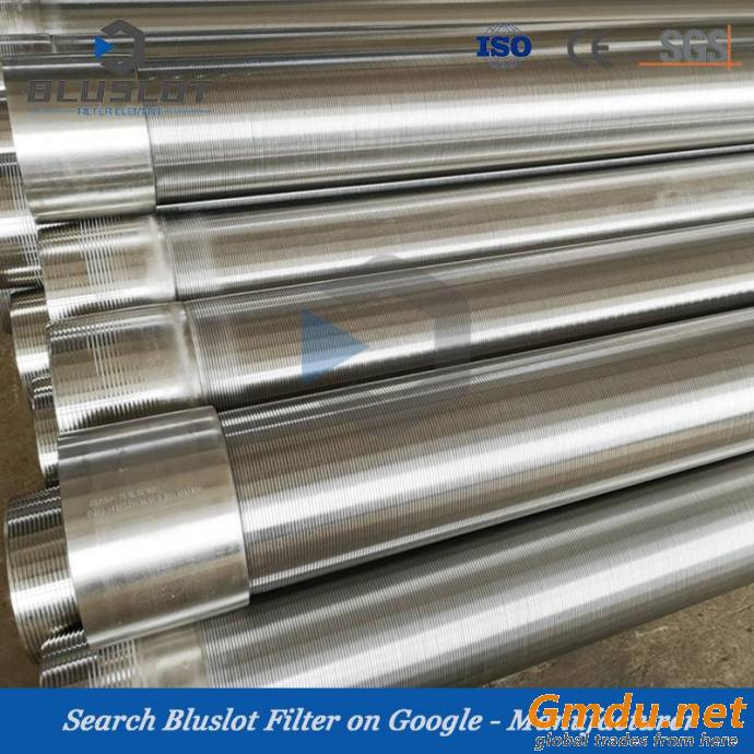 Oil and Water Drilling Johnson Well Screen Tube, Filter Pipe