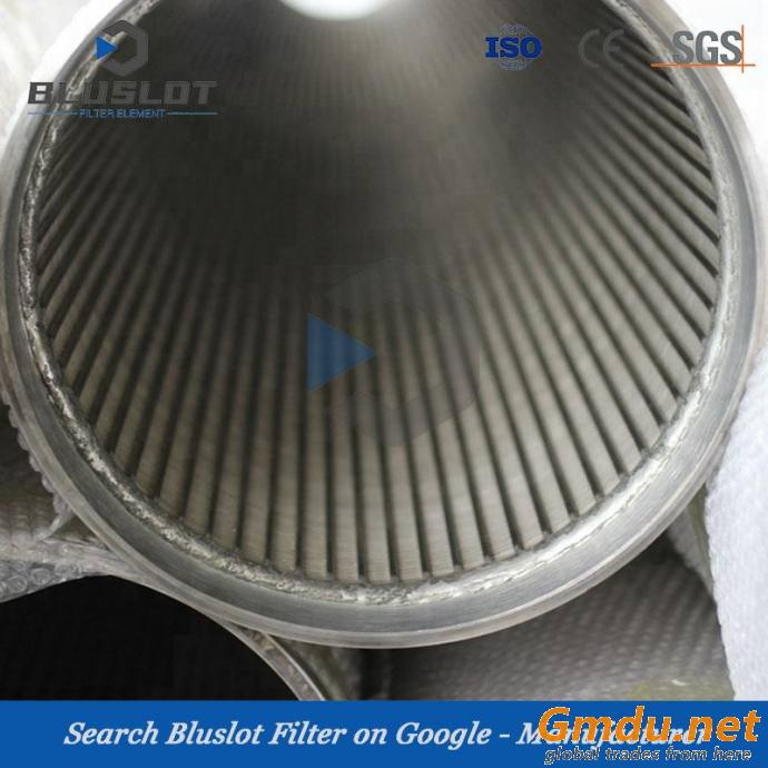 Stainless Steel 304/316 Johnson Screen Pipe/Wedge Wire Screen Pipe/Well Screen Pipe