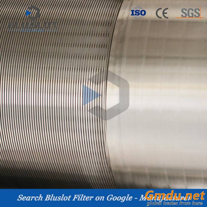 Stainless Steel 304L Slot20 Wire Wrap Water Well Screen for Borehole Drilling