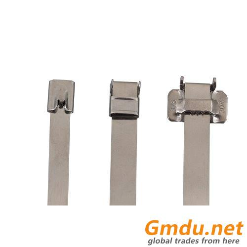 304 Naked Stainless Steel Cable Tie E Lock Type