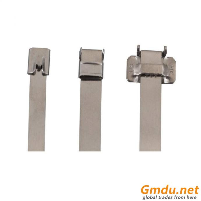 304 Naked Stainless Steel Cable Tie Wing Lock Type
