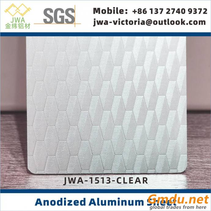 5052 Anodized Aluminum Sheet, Anodized Aluminum Coil for Building Cladding Materials