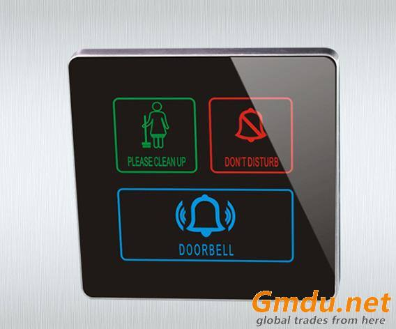 Hotel Smart Electric Touch Screen Doorbell Switch System