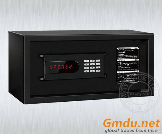 Metal electronic digital hotel in-room safe deposit box