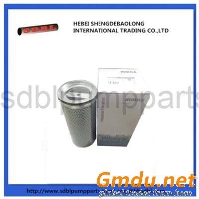 zoomline concrete pump filter element