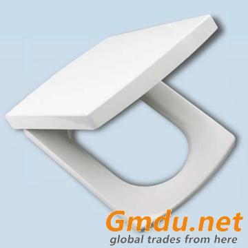 UF rectangle toielt seat soft close quick release