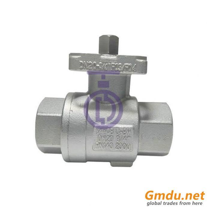 Customized stainless steel ball valve body