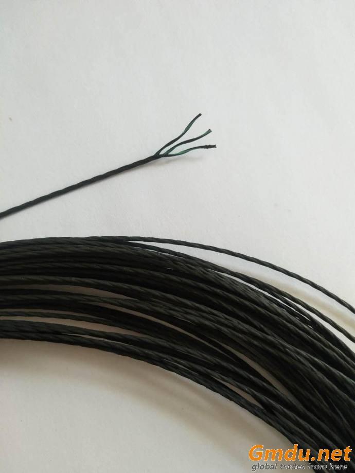EPDM overcoat polyester stiff cord
