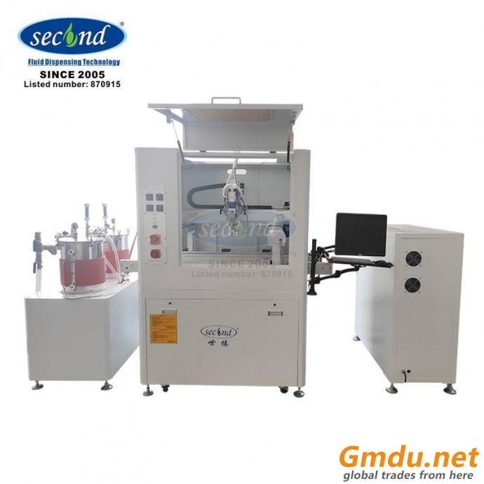 two component doming epoxy potting machine