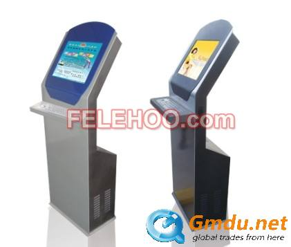 Information Inquiry Touch Screen Kiosk Ticket Printer/Photo Boot