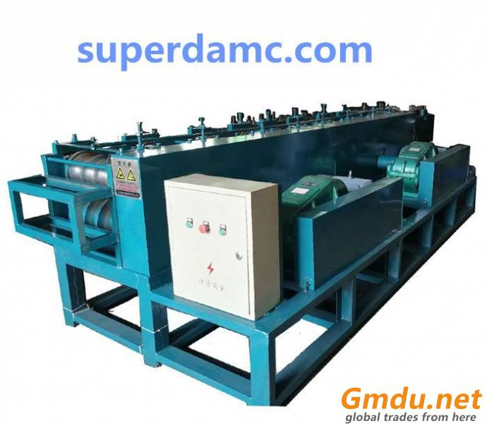 Metal oval tube roll forming machine