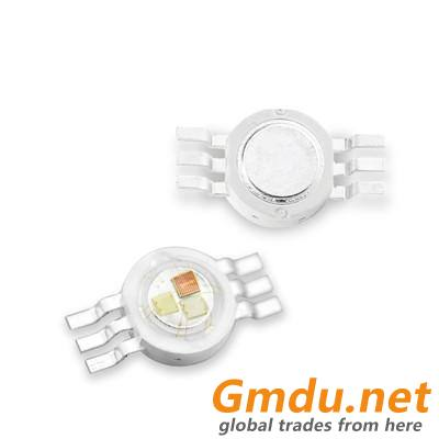 LED high power full color lamp beads 3w 3in1 RGB