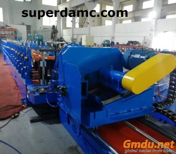 Steel Roll Forming Machine for Rack System Box Beam