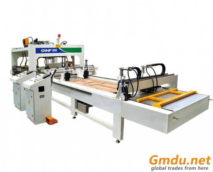 Pass-Through Type Wooden Board Joining Machine