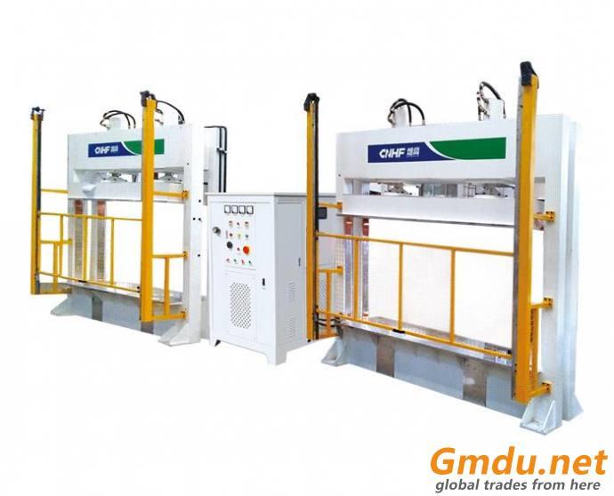 high frequency hot press machine