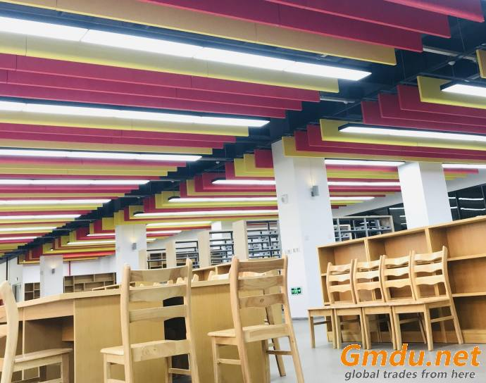 Acoustical Fiberglass Ceiling Panels Suspension Systems